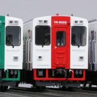 YR-3000HO模型正面並び
